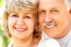 couple elderly happy Στοκ εικόνα με δικαίωμα ελεύθερης χρήσης