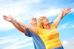 couple elderly love Στοκ Φωτογραφία