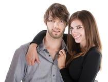 Couple Embracing Stock Photo