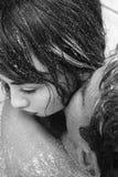 Couple embracing. Royalty Free Stock Image