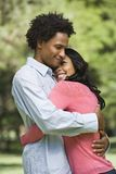 Couple embracing. Stock Photo