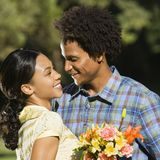 Couple embracing. royalty free stock images