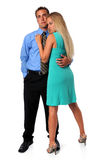 Couple Embracing Stock Photography