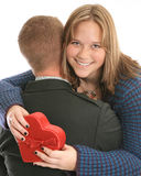 Couple embracing Stock Image