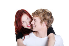 Couple embracing each other. Royalty Free Stock Images