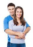 Couple embracing Stock Photos
