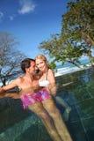Couple enjoying honeymoon Royalty Free Stock Photos