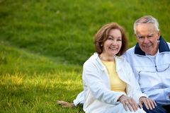 Couple enjoying their retirement Royalty Free Stock Photography