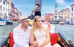 Couple enjoying travel Royalty Free Stock Images