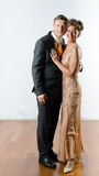 Couple at evening event Royalty Free Stock Photography