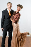 Couple at evening event Stock Image