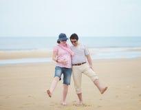 Couple expecting child Royalty Free Stock Photos