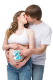 Couple expecting child Royalty Free Stock Photography