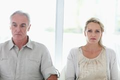 A couple facing relation issues Royalty Free Stock Image