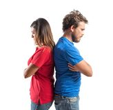 Couple fighting Royalty Free Stock Photos