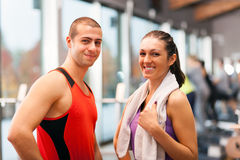 Fitness club royalty free stock photos