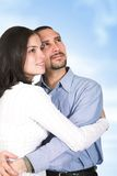Couple full of dreams Stock Photography