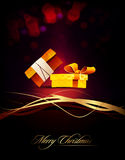 Couple of Gifts | Present | Elegant Vertical Card Royalty Free Stock Images