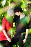 Couple - girl and guy Stock Photography