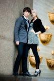 Couple - girl and guy Stock Photos