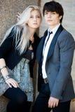 Couple - girl and guy Stock Image