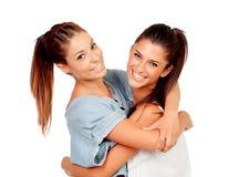 Couple of girlfriends Stock Image