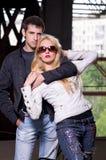Couple glamour Stock Image