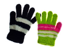 Couple gloves Royalty Free Stock Photography