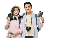 Couple goes on vacation Stock Photography