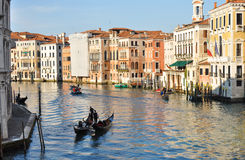 Couple of gondolas Royalty Free Stock Photos