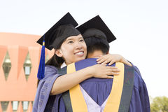 A couple of graduates Stock Photos