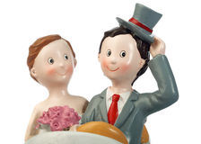 Couple of grooms dolls Royalty Free Stock Images