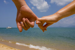 Couple hands Royalty Free Stock Photography