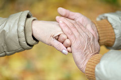 Couple of hands Stock Images