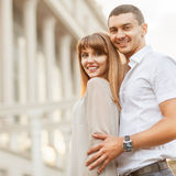 Couple happiness fun Royalty Free Stock Photo