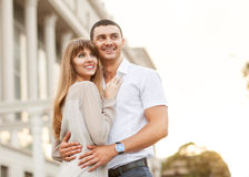 Couple happiness fun Royalty Free Stock Images
