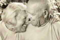 couple happy love senior Στοκ Εικόνες