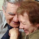 couple happy senior Στοκ φωτογραφία με δικαίωμα ελεύθερης χρήσης