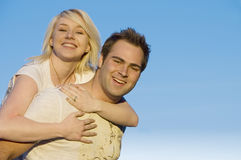 Couple happy together 2 Stock Photos