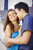 Couple have funn Stock Photo