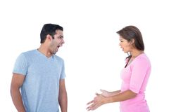 Couple having an argument Stock Photo