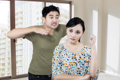 Couple Having An Argument Royalty Free Stock Photo