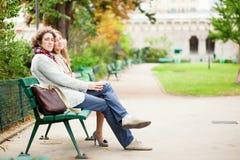 Couple having a date Stock Photos