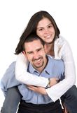 Couple having fun Stock Photos