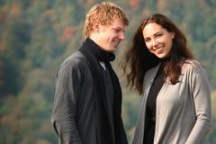 Couple having fun Royalty Free Stock Image