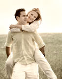 Couple having fun Royalty Free Stock Photography