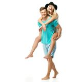 Couple having fun Stock Photography