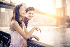 Couple having fun Stock Image