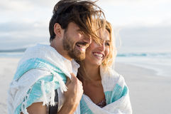 Couple having fun Stock Images