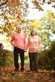 Couple having fun in park Stock Photography